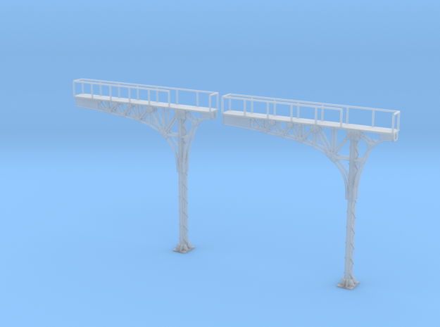 N Scale ATSF Style Cantilever 2pc Lefthand Running in Smooth Fine Detail Plastic