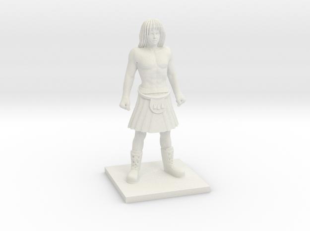 Norse 06 - Lineman in White Natural Versatile Plastic