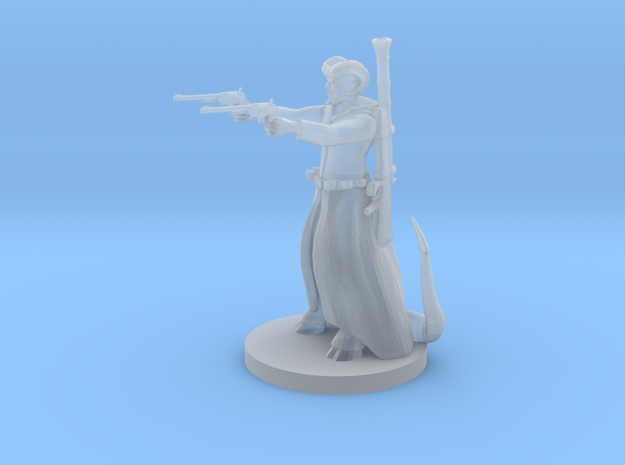 Tieflng Gunslinger in Smooth Fine Detail Plastic