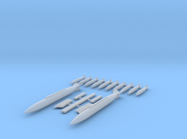 Atlas Cheetah 10 Bomb (Mk81) Configuration- Sprue in Smooth Fine Detail Plastic: 1:72