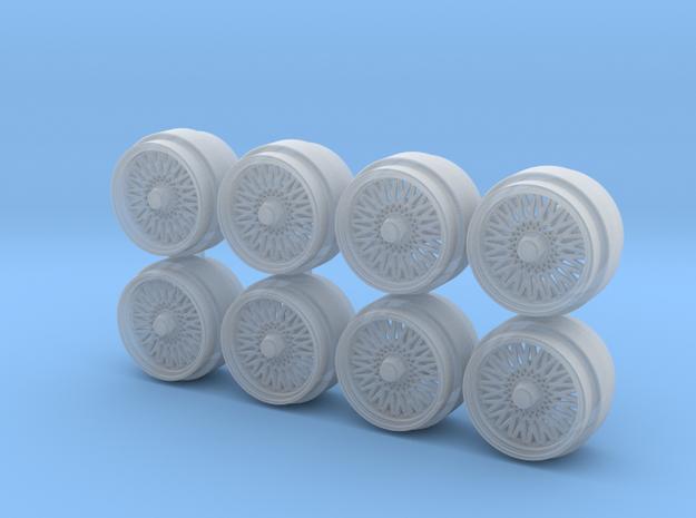 SSR Supermesh 8-1 Hot Wheels Rims in Smoothest Fine Detail Plastic