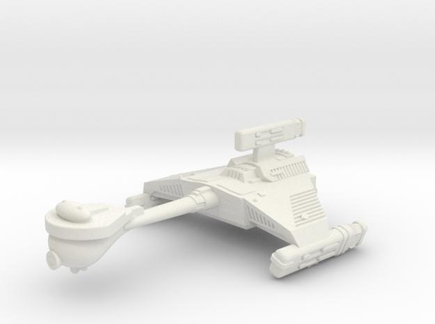 3788 Scale Klingon HF5 Heavy War Destroyer WEM in White Strong & Flexible