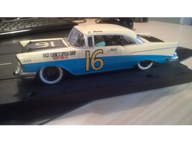 Carrera Universal 132 Chevrolet Bel Air 57 in White Strong & Flexible