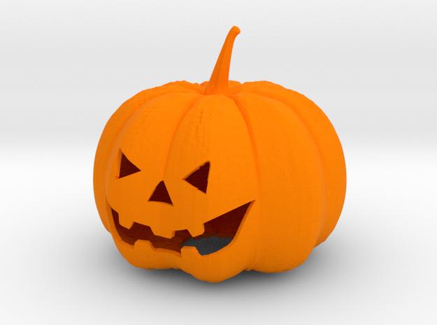 Halloween Pumpkin in Orange Processed Versatile Plastic
