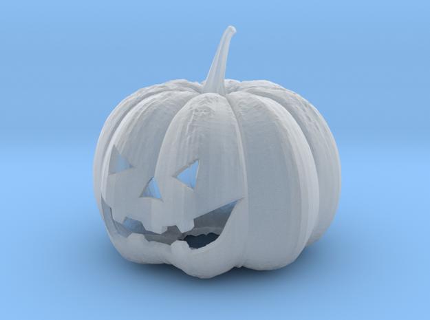 Small Halloween Pumkin in Smooth Fine Detail Plastic