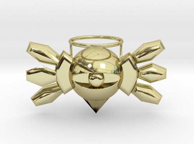 02 Kirby Boss in 18k Gold Plated Brass