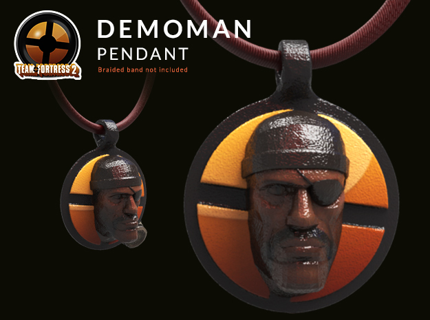 Team Fortress 2 - Demoman Collectible Pendant | Ke