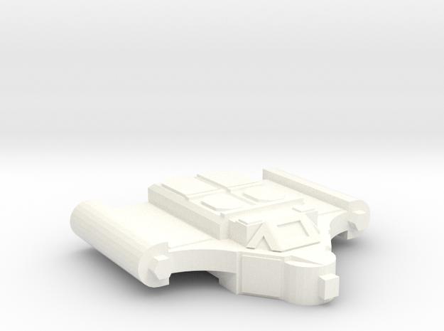 Agrippa ECM Scout in White Processed Versatile Plastic