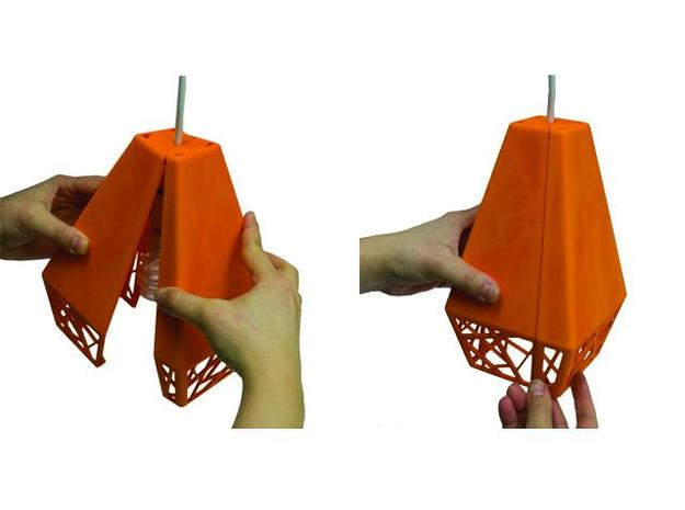 Two Piece Shade 3d printed Two Piece Shade - Assembly