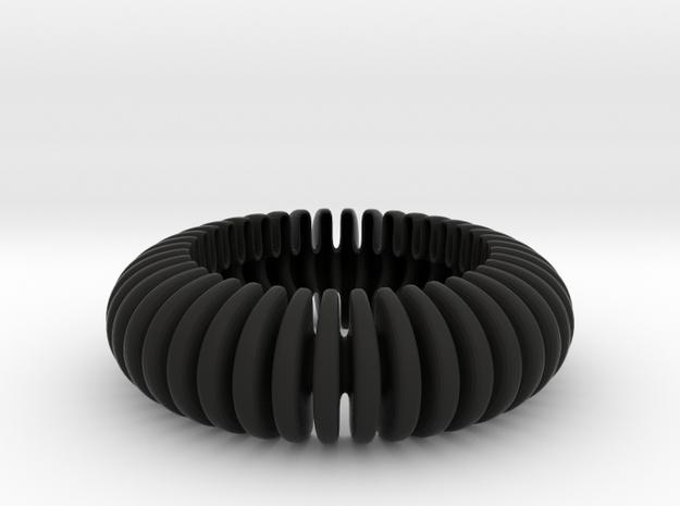 WAVE SHF 09b8_2017 in Black Premium Versatile Plastic