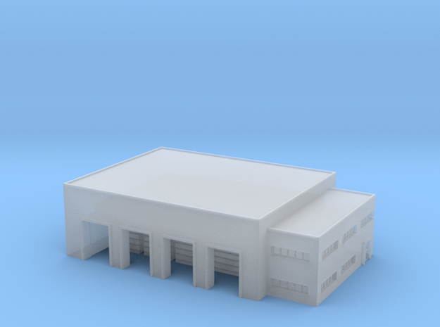 1:1200 warehouse+office in Smooth Fine Detail Plastic