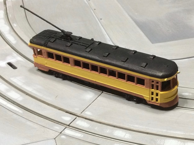 #160-1004 CRANDIC Lightweight Interurban in Smoothest Fine Detail Plastic