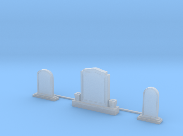 Tombstone Collection in Smooth Fine Detail Plastic: 1:64 - S