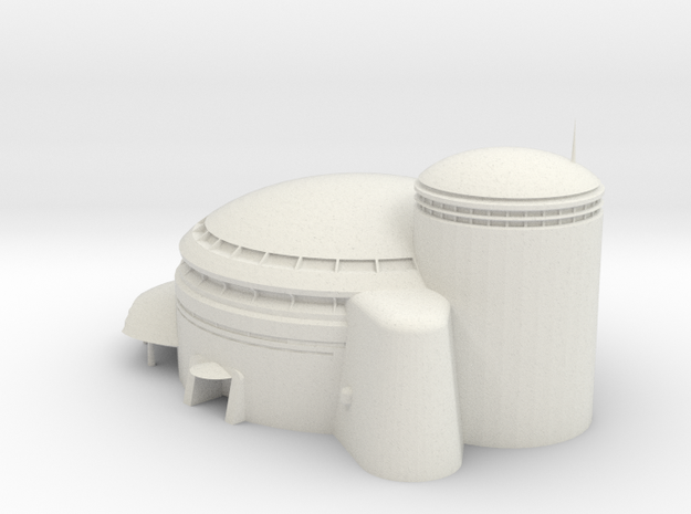 Jabba's Palace  in White Natural Versatile Plastic