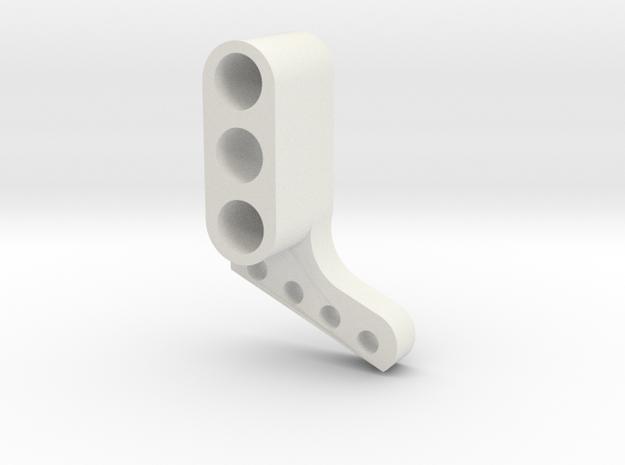 TC4 Camber Link Mount FR RL in White Natural Versatile Plastic