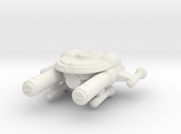 3788 Scale Seltorian Strike Carrier (CVS) MGL in White Natural Versatile Plastic