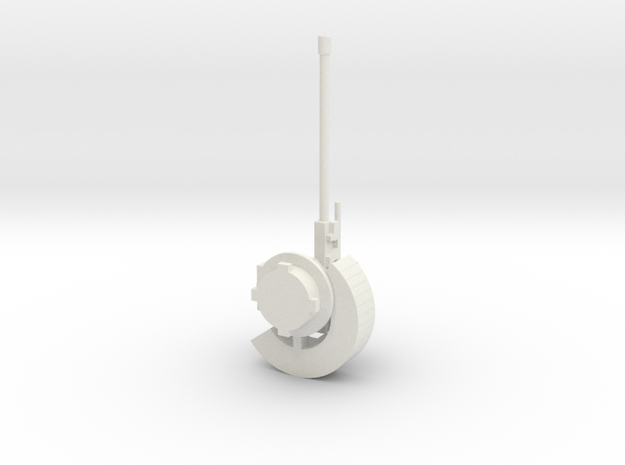 1:72 UT30 - ORCWS30 Weapon Extension Series in White Natural Versatile Plastic