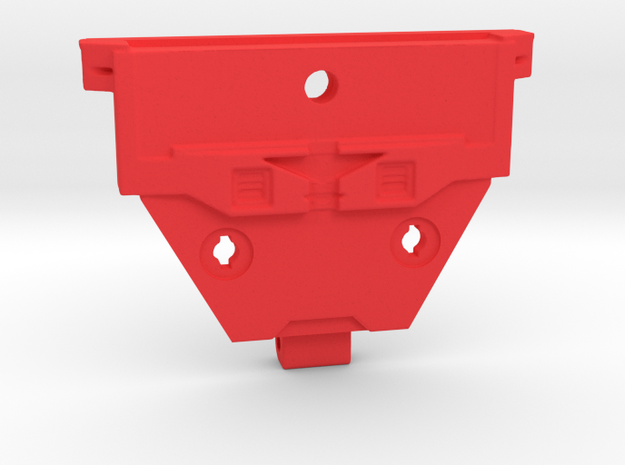 CW to G1 Magnus Breastplate in Red Processed Versatile Plastic