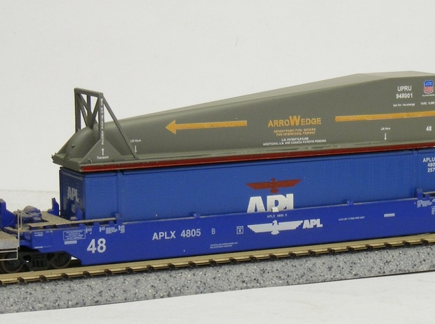 ArroWedge Container Load - Nscale in Smooth Fine Detail Plastic