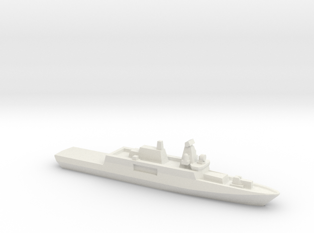 ORP Ślązak (2015), 1/3000 in White Natural Versatile Plastic