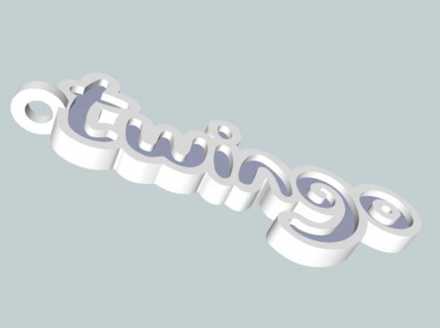 Twingo Keychain 3d printed Preview