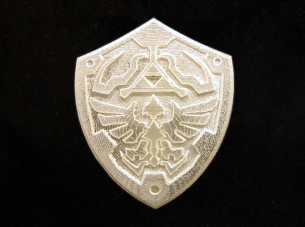 Royal Shield II 3d printed Frosted Ultra Detail