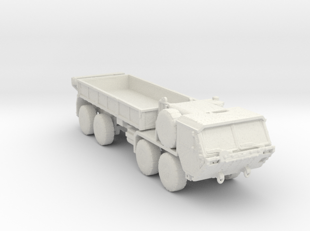 M977A2 Cargo Hemtt 1:220 scale in White Natural Versatile Plastic