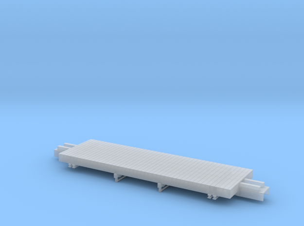 ET&WNC 506 Frame HOn3 in Smooth Fine Detail Plastic: 1:87 - HO