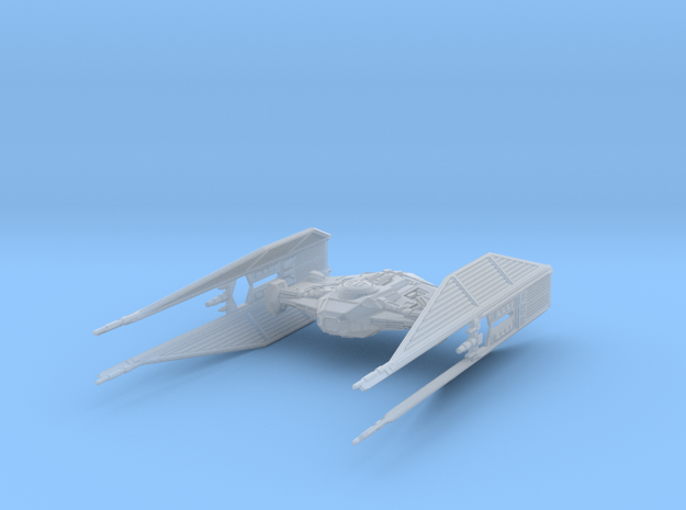 TIE_Silencer_parts in Smooth Fine Detail Plastic