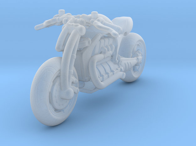 Concept Motorcycle   1:87 HO in Smooth Fine Detail Plastic
