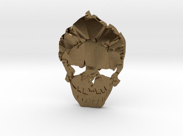 Joker - Squad Skull in Raw Bronze