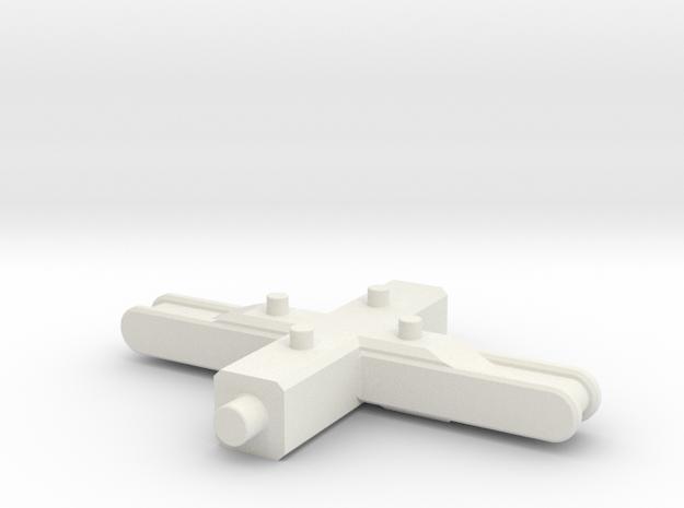 garrybone in White Natural Versatile Plastic