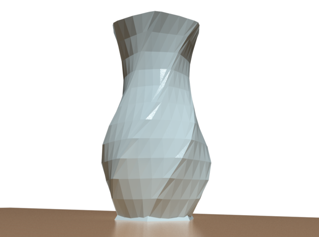 Liscio Vase 3d printed Render: (product image coming soon)