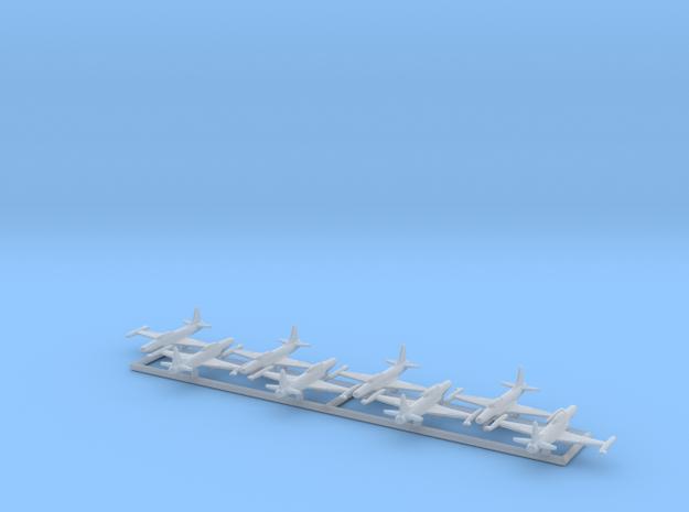 1/700 F-94B w/gear x8 (FUD) in Smooth Fine Detail Plastic