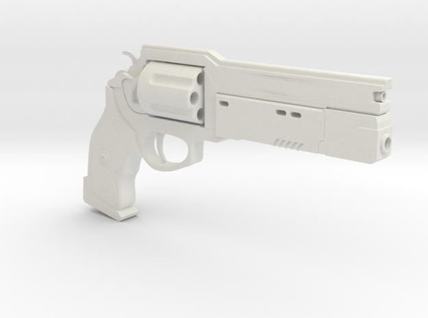 Destiny handcannon in White Natural Versatile Plastic: 1:8