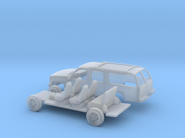 1/160 1992-99 Chevrolet Suburban Kit in Smooth Fine Detail Plastic