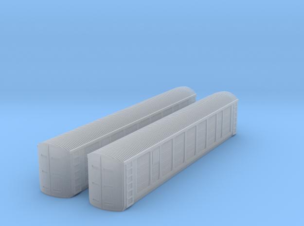 T gauge Freight Autoracks in Smoothest Fine Detail Plastic