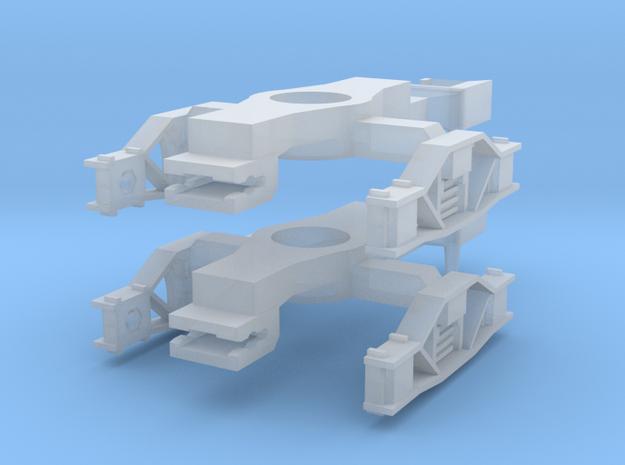 BogieDiamondFrame5ft9in standard NEM in Smoothest Fine Detail Plastic