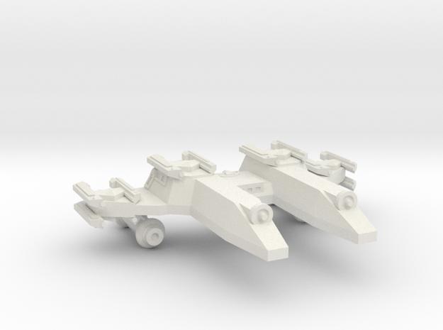 3788 Scale Lyran PF/Gunboat Tender CVN in White Strong & Flexible