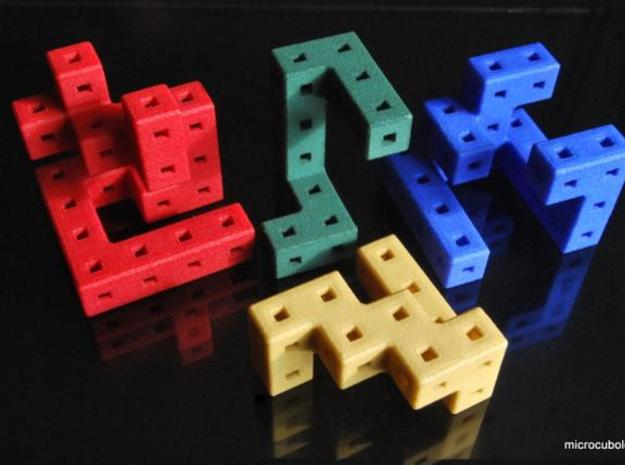 Quaturnery Qube 3.2cm 3d printed Cube pieces