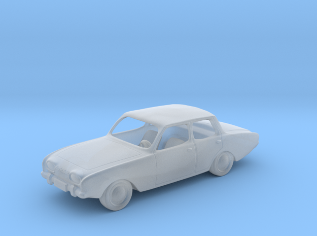 Ford Taurus   1:120 TT in Smooth Fine Detail Plastic