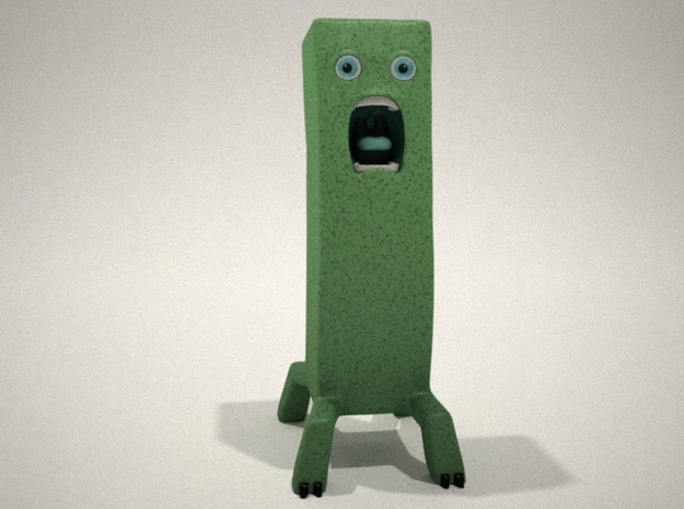 Creeped out Creeper 3d printed