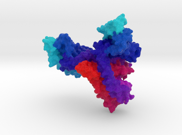Bacterial Sodium Channel in Full Color Sandstone