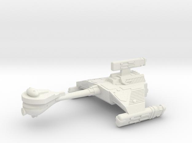 3788 Scale Klingon HF5 K-Refit Heavy War Destroyer in White Strong & Flexible