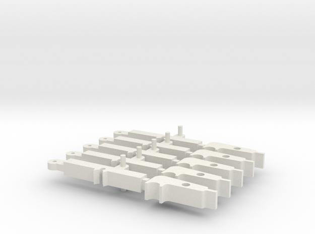 ProWin & Krytac 5 pack in White Natural Versatile Plastic