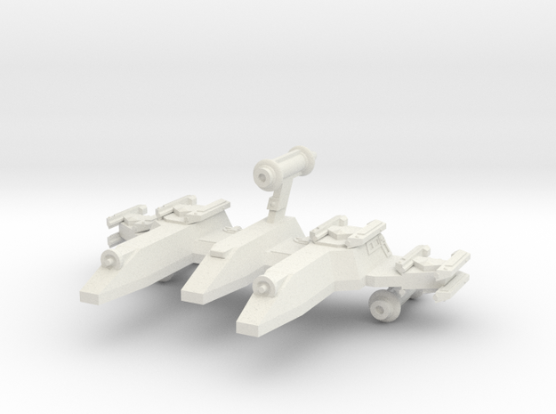 3788 Scale Lyran War PF/Gunboat Tender CVN in White Strong & Flexible