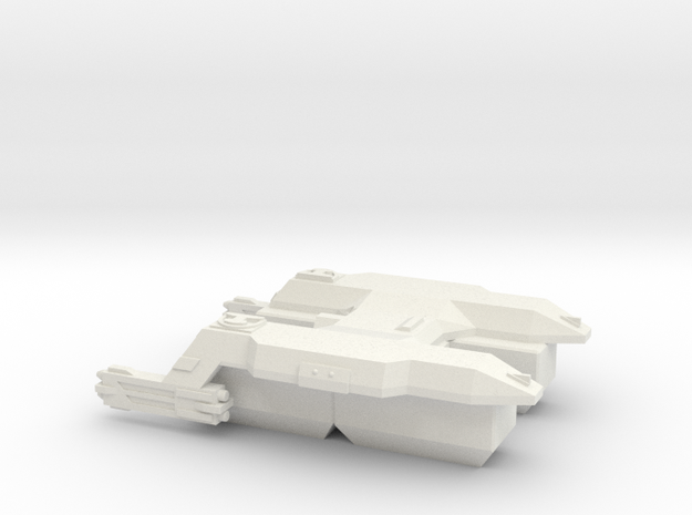 3125 Scale LDR Transport Tug CVN in White Strong & Flexible