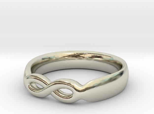Infinity Ring in 14k White Gold: 7 / 54