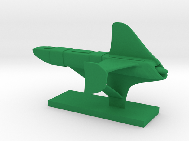 Brakiri - Tashkat Carrier in Green Processed Versatile Plastic