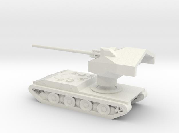 Waffenträger auf E 100 1/160 in White Natural Versatile Plastic